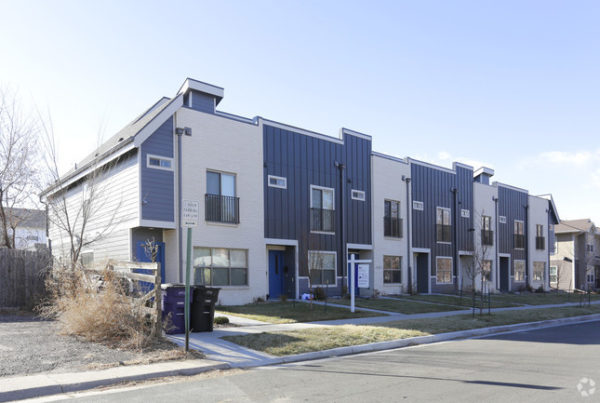 Denver Townhouse Construction Loans Funded by INCA